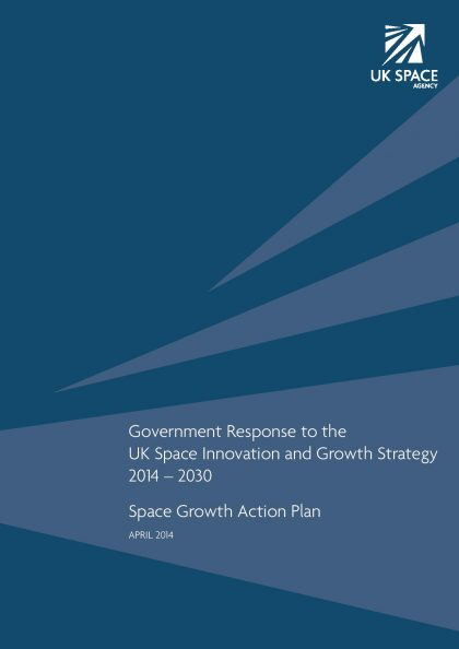 Government Response Space Growth Action Plan page 001