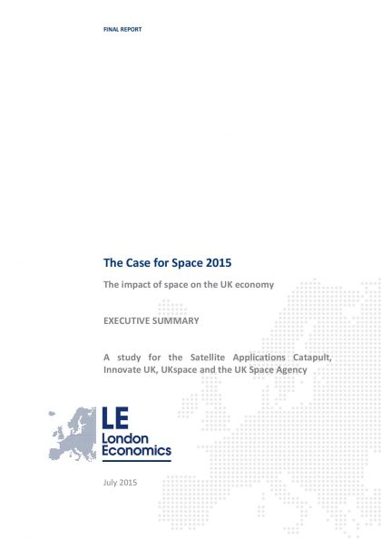 LE Case for Space 2015 Executive Summary page 001